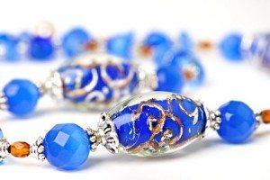 Brazaletes azules