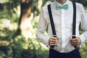 Cómo lucir una pajarita con glamour